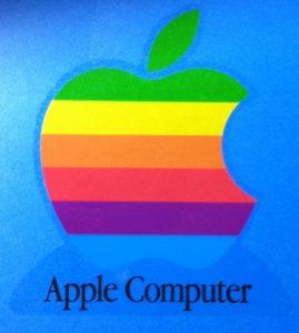 """""""昔のリンゴはちょっと変わった虹色だった!"""""""