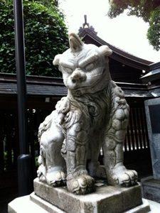 櫛田神社のうん
