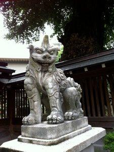 櫛田神社のあ